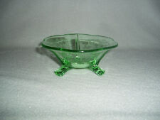 Fostoria Versailles Green Footed Mint Dish