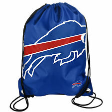 Buffalo Bills Back Pack/Sack Drawstring Bag/Tote NEW Backpack BIG LOGO