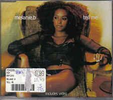 Melanie b- Tell me cd maxi single incl video