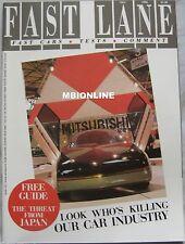 FAST LANE 12/1986 featuring Panther Kallista, Citroen BX 19GTi,  Range Rover