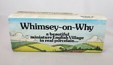 Whimsey on Why Wade of England Set 1 Miniature Porcelain English Village Vintage