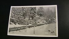Photo Postcard--CALIFORNIA--Placerville Lake Tahoe Highway Elevation 7000ft Snow