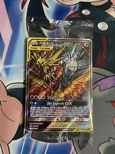 New listing Moltres Zapdos Articuno Gx Sm210 Hidden Fates Pokemon Promo Card Sealed