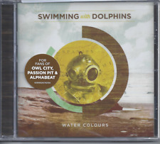 Swimming With Dolphins-Water Colours CD Christian Synth Pop (New Factory Sealed)