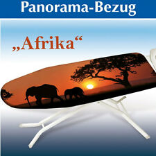 "WENKO Bügelbrettbezug 128 x 54 cm ""Afrika"" Baumwolle Bügeltischbezug"