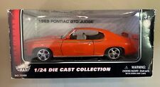 1969 MOTORMAX #73200 Pontiac GTO JUDGE Orange 1/24 NEW IN ORIGINAL BOX