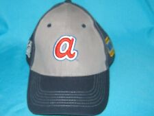 RARE MLB ATLANTA BRAVES NAPA CELEBRATING 50 YEARS VELCRO BACK CAP HAT - HTT HEAD