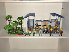Playmobil 4461 ZOO FEEDING STATION (custom x2 combined into 1) loose