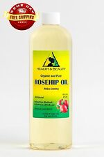 ROSEHIP SEED OIL REFINED ORGANIC CARRIER COLD PRESSED PREMIUM 100% PURE 16 OZ