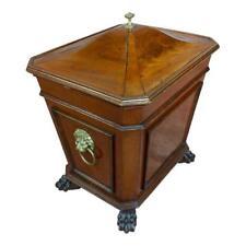 19th c. Fabulous English Regency Mahogany Wine Cellarette 1820s