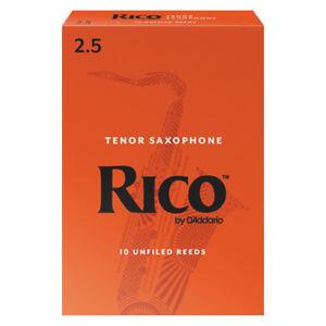 Rico Tenor Saxophone Reeds Strength 2.5 (Box of 10)