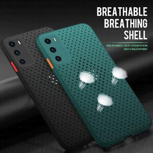Handy Schutz Hülle Für Samsung A21S A41 A51 A71 TPU Silikon Netz Schale Case