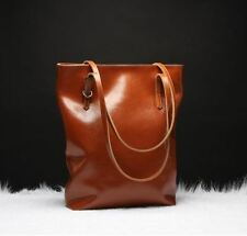 New Fashion Women's Genuine Real Cow Leather Shoulder Bag Handbag Large
