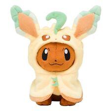 Pokemon Pikachu Plushie Eevee Poncho Leafeon Plush Doll Figure Toy Gift US Ship