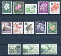 Norfolk Inseln MiNr. 62-73 postfrisch MNH mit 73 I+II (W839