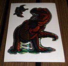 Older Vending Machine Prism Sticker - Tyranosaurus Rex Pterodactyls - Dinosaurs