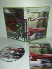 FATAL INERTIA  - XBOX 360 - PAL - complet