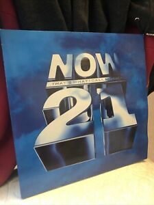 NOW THAT'S WHAT I CALL MUSIC 21 DOUBLE VINYL LP