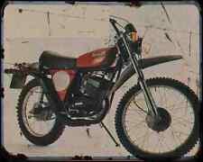Benelli 125 Enduro A4 Metal Sign Motorbike Vintage Aged