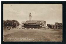 pre 1907 Tuck Photographic Glosso view of the Singapore Cricket Club, Pedang