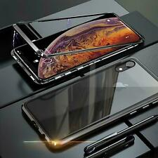 Case Magnet Apple IPHONE XR Protective Case Glass Phone Case Curb Case Cover