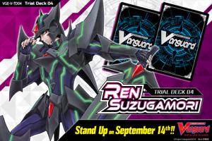 Cardfight Vanguard VGE-V-TD04 Ren Suzugamori Shadow Paladin Trial Deck English