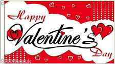 Happy Valentine's Day 5'x3' Flag