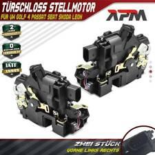 2x Türschloss Stellmotor vorne links rechts für VW Golf 4 Passat Seat Skoda Leon