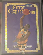 1998-99 KOBE BRYANT FLEER TRADITION GREAT EXPECTATIONS INSERT #5 ge 10 LA LAKERS