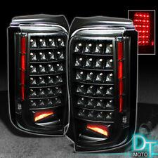 2008 2009 2010 Scion Xb Bb JDM Black LED Tail Lights Brake Lamps Left+Right Pair