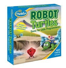 THINKFUN (ROBOT TURTLES) STEM TOY CODING BOARD GAME AGE 4+ FACTORY SEAL NEW NIB