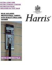 HARRIS QUALITY extrar long 2M SWIVEL POLE SANDER PLASTERING SANDING POLE  235X85