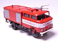 H0 BUSCH IFA W 50LA TLF Tanklöschfahrzeug GMK Ganzmetallkoffer Feuerwehr # 95242