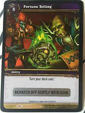 World of Warcraft TCG Loot card ** FORTUNE TELLING ** Imp in a ball UNSCRATCHED