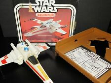 VTG~1977~1978~Kenner~Star~Wars~X~Wing~fighter~pilot~vehicle~ship~figure~lot~set~