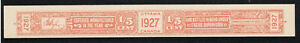Canada 1927 Liquor revenue stamp old Bootleggers Forgery, Counterfeit, Fake.