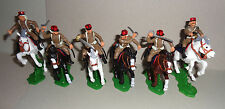Mounted Argentinean Troops in Desert Campaign Dsg Plastic Soldiers Britains