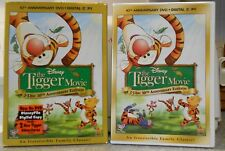 Winnie the Pooh  The Tigger Movie (DVD 2009 2-Disc 10th Anniv) NEW W  SLIPCOVER