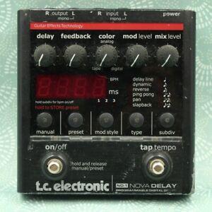 TC Electronic ND-1 Nova Delay Guitar Effect Pedal