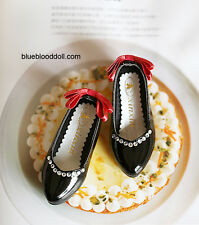 1/4 bjd MSD MDD minifee girl doll black color flat shoes dollfie dream ship US