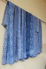 10 pcs Wholesale Lot Of Indigo Blockprint Cotton Sarongs Beach Wear Cotton Scar