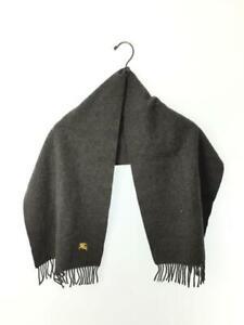 Authentic Burberry London grey 100% cashmere scarf 30cm x 135cm