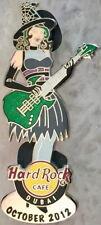Hard Rock Cafe DUBAI 2012 Calendar Girl Series PIN #10/12 October LE 200 #67030