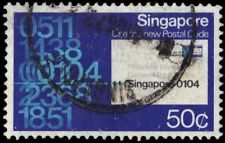 SINGAPORE 324 (SG351) - Introduction of the Postal Code System (pf94412)