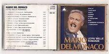 Cd MARIO DEL MONACO Le più belle romanze - 1988 No barcode Crown Games