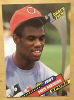 David Robinson 1992-93 Topps Archives #1 Draft Pick Retro Rookie #7