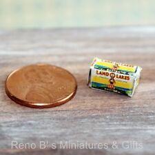 """Dollhouse miniature food 1:12 """"LOL"""" Butter Box"""