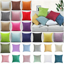 """16"""" 18"""" 20"""" 22"""" 24"""" 26"""" 28"""" Soft Jumbo Cord Corduroy Cushion Cover Pillow Cases"""