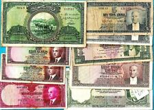 More details for turkey - rare banknotes 1st emysion - inonu - attaturk choose your banknote