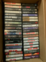 Lot (47) 1980's Rock/Pop - Cassette Tapes - EX (Prince,Springsteen,Bowie,etc.)